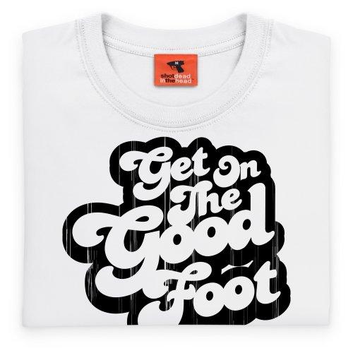 The Good Foot Vintage T-Shirt, Damen Wei