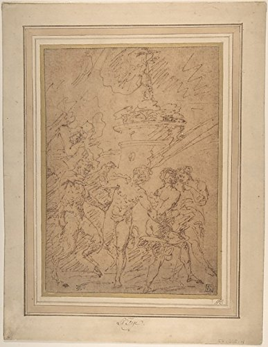 raymond-de-la-fage-satyr-and-nymphs-dancing-artistica-di-stampa-4572-x-6096-cm