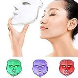 ZRYstore 3 couleur LED masque d'or LED traitement de la lumière soin du...