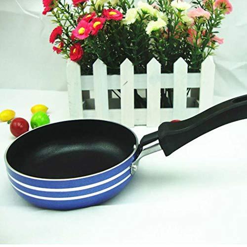 Acecoree- Mini Nonstick Bratpfanne Portable Kochgeschirr Haushalt Küche Werkzeug Fettpfannen