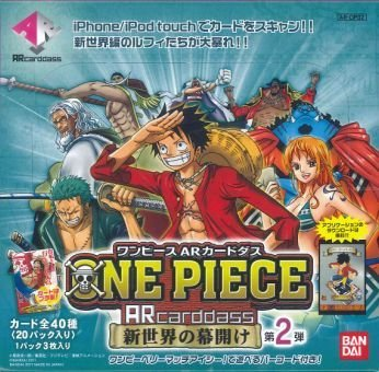 One Piece AR Carddass 2nd BOX Bandai (japan import)