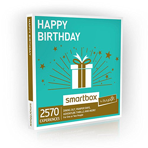 b31fc445d389 Buyagift Happy Birthday Gift Experiences Box - Over 1500 Experiences for  One or Two People