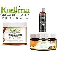 Kadima Trio estimulador Cabello, 100% aceite de Carrier, 100% aceite esencial, sin productos químicos, todos los.
