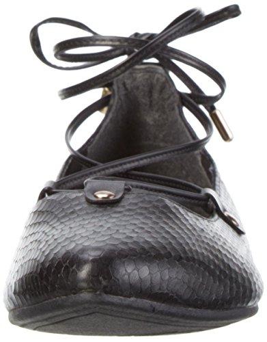 S.oliver 22100, Ballerines Pour Femmes Noires (noir 001)