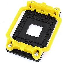 Negro Amarillo Plástico ventilador de CPU AMD Soporte soporte Base Conector para AM2 AM3