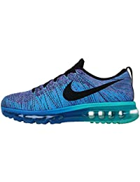 promo code 01bc6 caacc Nike Flyknit Air Max 620469-500 Hyper Grape Photo Blue Black Men s Running