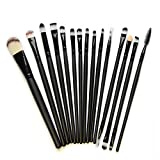 Best Kolight Lip Brushes - Kolight 15pcs Cosmetic Makeup Brushes Set Powder Foundation Review