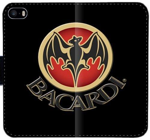 bacardi-logo-e4j6w-iphone-5-5s-5se-leather-wallet-case-4tu4el-protective-hard-flip-case