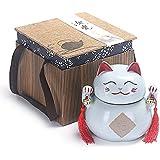 ZYHJAMA Cat Statue Cremation Memorial urne, keramische Klassische Andenkenurne - Token Urns, für die Asche von Haustieren