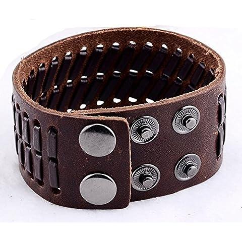 SaySure - Cool Multilayer Braided Bracelets (Apatite Strand)