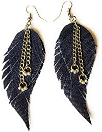e1a046d7a Leaf Stylish Jeans Hand made, new, stylish, classy, fashion, modern, fancy  earrings for women and girls 4270037.