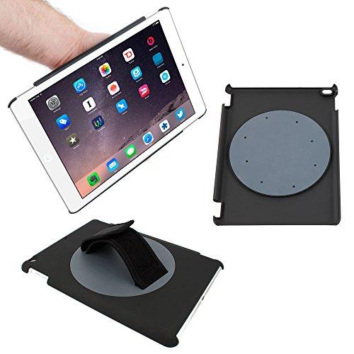 """DURAGADGET Etui housse rotatif à 360° pour Apple iPad Air 2 nouvelle version (sortie 2014) tablette 9,7"""" écran Retina Wi-Fi + 4G LTE 16Go, 64Go, 128Go - poignée d'attache réglable pratique, idéal dans les transports"""