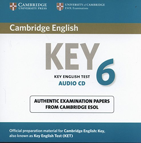 Cambridge English Key 6 Audio CD (KET Practice Tests)