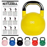 Kettlebell Competition 12 kg | Professional Studio Qualität - Best Reviews Guide