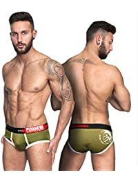 2 pcs Mens Cotton Boxer Brief Shorts Sexy Underpants New Underwear