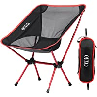 Camping Outdoor Seat, Fansport Fish Chair Mesa auxiliar ligera