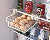 Hapileap Kühlschrank Schublade Organizer Einzigartiges Design Zehen Mülleimer Kühlschrank Regal Halter Aufbewahrungsbox Home Organizer (Pack of 1)