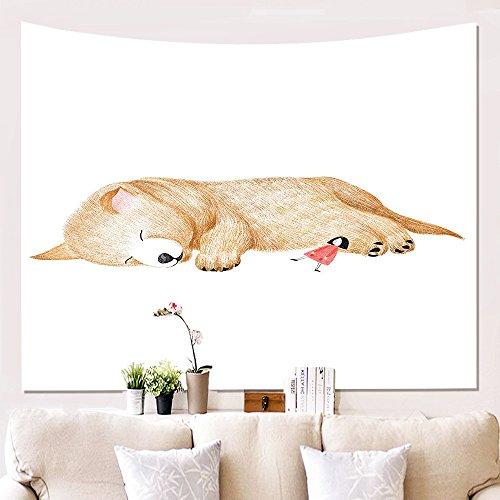 tapicería Colgante de la Pared Colcha decoración Arte Cubierta Cama Divisor habitación...