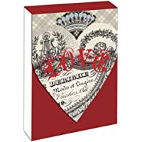 Block Notes 75 sheets Love Rosso