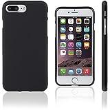 Xcessor Vapour Étui Coque Housse Pour Apple iPhone 7 Plus. Flexible TPU Gel. Noir
