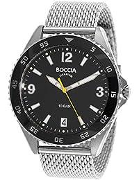 Boccia Herren-Armbanduhr 3599-01