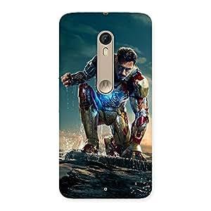 Gorgeous Premier Preparation Multicolor Back Case Cover for Motorola Moto X Style