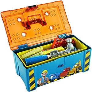 Mattel Fisher-Price DGY48 - Bob der Baumeister Bobs 2-in-1 Werkzeugkasten