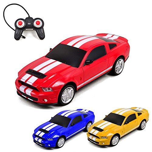 Ford Mustang Shelby GT500 - RC ferngesteuertes Modellauto im Maßstab 1:24 inkl. Fernsteuerung