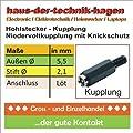 Hohlstecker Stift 21mm Auen 55 Mm Kupplung Koaxstecker Netzteilstecker Hohlstecker Stromstecker Elektronik von CHI