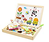 #6: Sanyal Forest Paradise Spells Happily Double-Sided Magnetic Board Multicolour