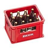Preis am Stiel 2 x Flaschenöffner ''Bierkiste'' Rot   Bar - Accessoires   Geschenkidee für Männer   Öffner für Flaschen   Flaschenöffner