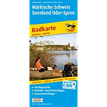 Märkische Schweiz und Oder-Seengebiet. 1:100000. Radwanderkarte mit Ausflugszielen, Einkehr- & Freizeittipps,  reissfest, wetterfest  beschriftbar und wieder abwischbar