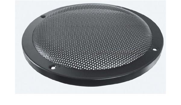 Lautsprecherziergitter Hifi 200 Mm Schwarz Elektronik