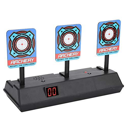 Dewin Toy Gun Target - Automatisches Wiederherstellungszubehör für Electric Score Target, für Soft Bullet Gun Toy (Soft-gun-target)