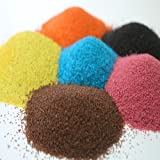 Maalavya Sugar Size Colored Sand Sample (10 Grams of Each Color) (Total 12 Colors)