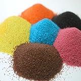 Maalavya Sugar Size Colored Sand Sample (10 Grams Of Each Color) (Total 12 Colors)