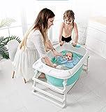 GAOLEI Baby Faltbad Baby Badeeimer kann setzen die Kind Familie Bad Badeeimer...