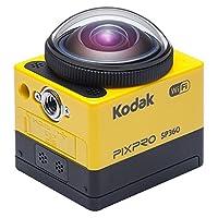 Kodak PixPro SP360 360 Degree 2K Extreme Action Camera Kit - Yellow