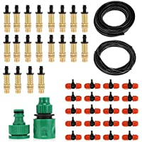 Shuzhen,Kits de riego Bricolaje Spray Sistema de riego por Goteo(Color:Multi,Size:Tipo B)