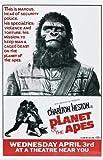 Pop Culture Graphics El planeta de los simios Póster de película J en 11 x 17-28 cm x 44 cm Charlton Heston Roddy McDowall Kim Hunter Maurice Evans Linda Whitmore Harrison James