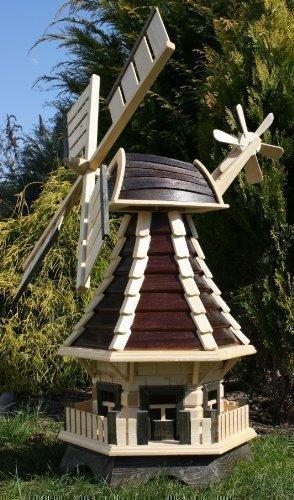 Schöne Windmühle, braun/natur Typ 1