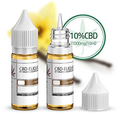 CBD e-Liquid Geschmack: Sweet Vanilla (von 1{c0360c38a7bdb7466f6c484a01cfa2295f0f30395022fcdedceba5c26f03f13e}-10{c0360c38a7bdb7466f6c484a01cfa2295f0f30395022fcdedceba5c26f03f13e} CBD) (10{c0360c38a7bdb7466f6c484a01cfa2295f0f30395022fcdedceba5c26f03f13e} CBD auf 10ml (1000mg))