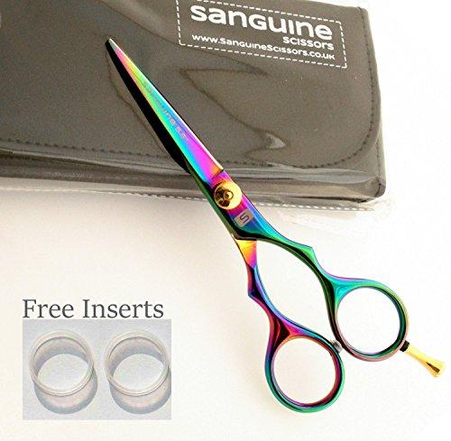 Titanium Hair Scissors, Hairdressing Scissors (5.5inch /14cm) with Presentation Case Test