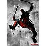Marvel Comics Metal Poster Dark Deadpool 32 x 45 cm Posters Wallscrolls