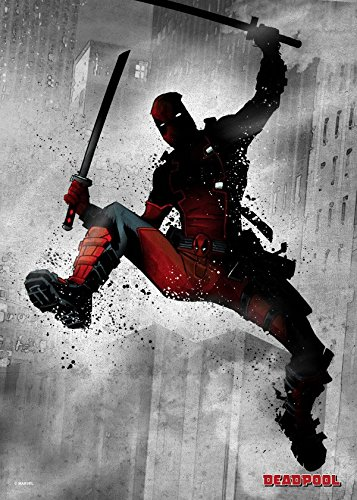 Marvel Comics Metal Poster Dark Deadpool 32 x 45 cm Posters Wallscrolls