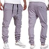 Amlaiworld Pantalones de Chándal de Hombres Pantalones de Deporte Pantalones Jogger Casuales para Hombre (Gris, L)