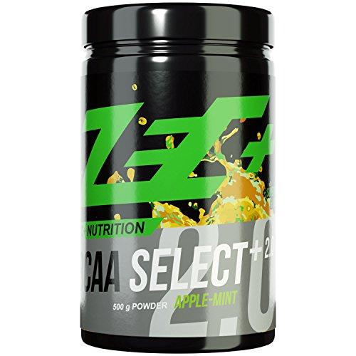 ZEC+ BCAA Select+ 2.0 | instantisierte Aminosäuren | L-Leucin | L-Valin | L-Isoleucin | perfekte Löslichkeit | sensationeller Geschmack | VEGAN | verschiedene Geschmachsrichtungen 500g