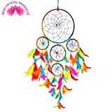 #10: Reiki Crystal Products Dream Catcher Wall Hanging for Positive Energy and Protections 55 x 15 cm Approx