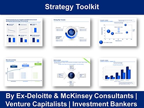 Strategy toolkit in powerpoint excel by ex deloitte mckinsey strategy toolkit in powerpoint excel by ex deloitte mckinsey consultants by domont wajeb