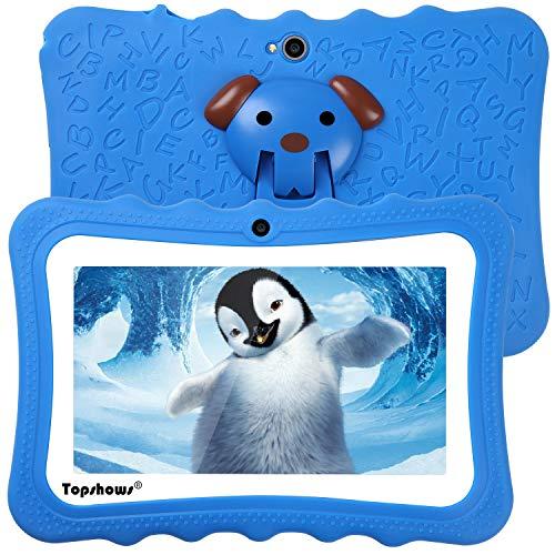 tablet per bambini 3 anni TOPSHOWS Tablet per Bambini da 7 Pollici